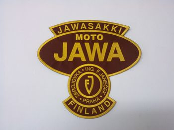 Jawasakki Club back patch